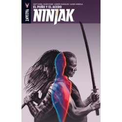 Ninjak 5. El Puño y el Acero