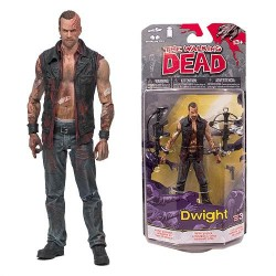 The Walking Dead. Figura de Acción de Dwight (Series 3 Cómics)