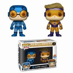 Pack Blue Beetle Booster Gold Funko Pop Figura Comprar DC Comics