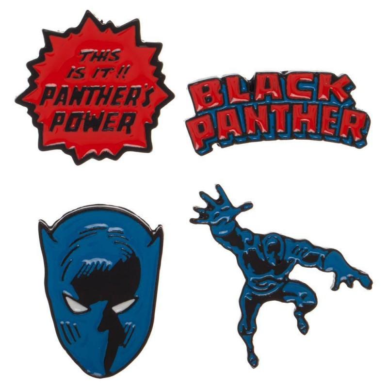 Pins Pantera Negra Marvel Comics Black Panther