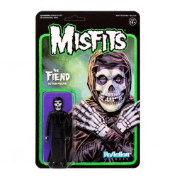 Figura Misfits The Fiend Midnight Black ReAction. Super7