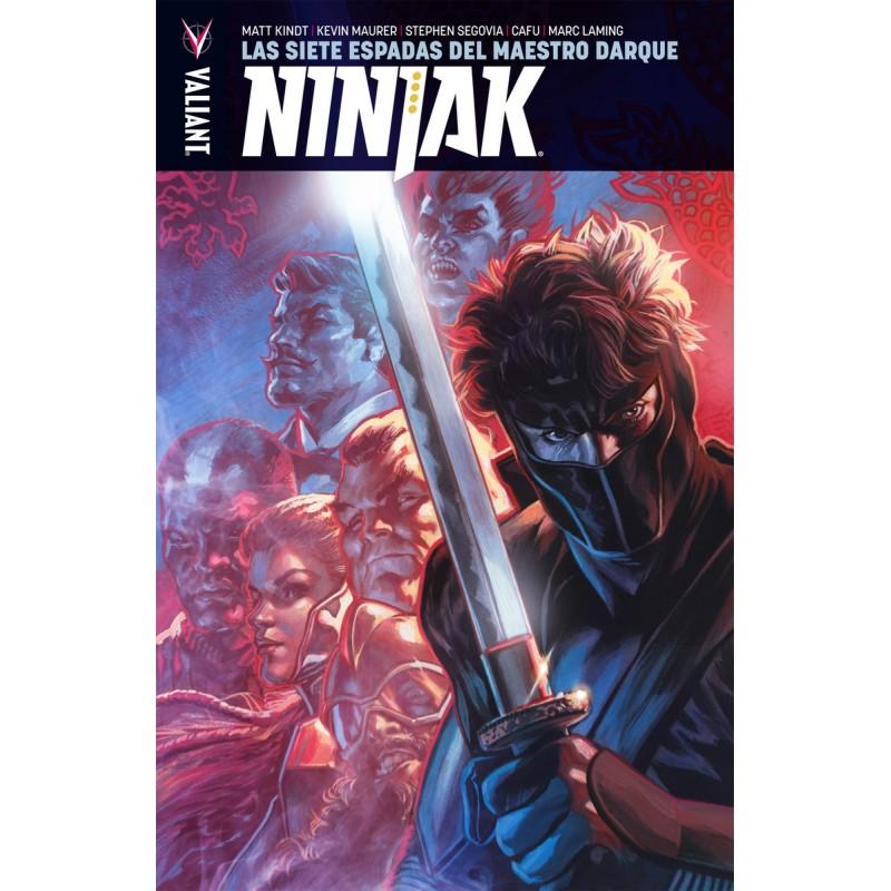 Ninjak 6. Las Siete Espadas del Maestro Darque