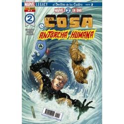 Marvel 2 en 1. La Cosa y la Antorcha Humana 3 Panini Comics