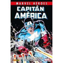 Capitán América de Mark Gruenwald 1. Se Ha Hecho Justicia (Marvel Héroes 88)