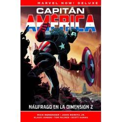 Capitán América de Rick Remender 1. Náufrago en la Dimensión Z (Marvel Now! Deluxe)