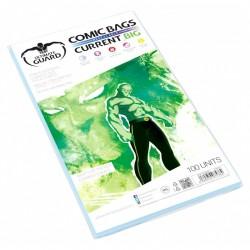 Bolsas Protectoras para Cómics Tamaño Current Big con Cierre Reutilizable
