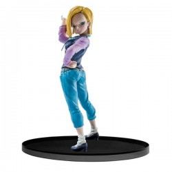 Figura Androide 18 Dragon Ball Banpresto