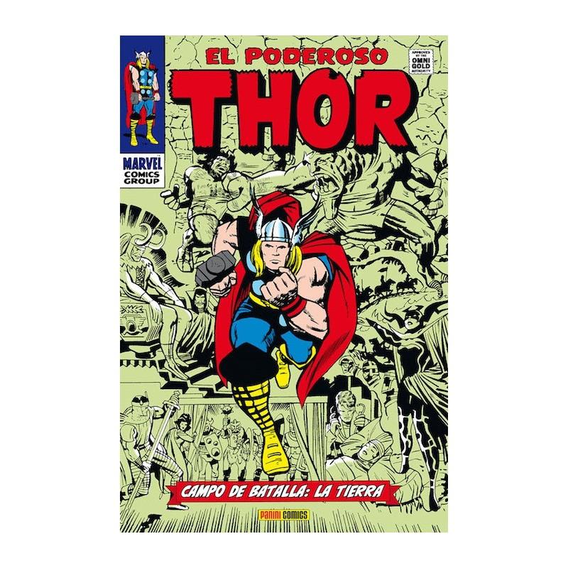 El Poderoso Thor: Campo de Batalla: La Tierra (Marvel Gold)