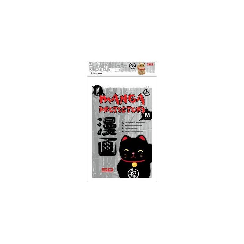 Protectores Manga con Cierre Reutilizable Ultra Pro Tamaño M