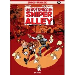 Spirou y Fantasio 54 Un Botones en Sniper City Dibbuks Comic