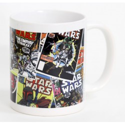 Taza Star Wars. Comics Covers 1