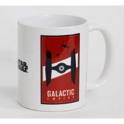 Taza Star Wars. Tie Fighter Logo