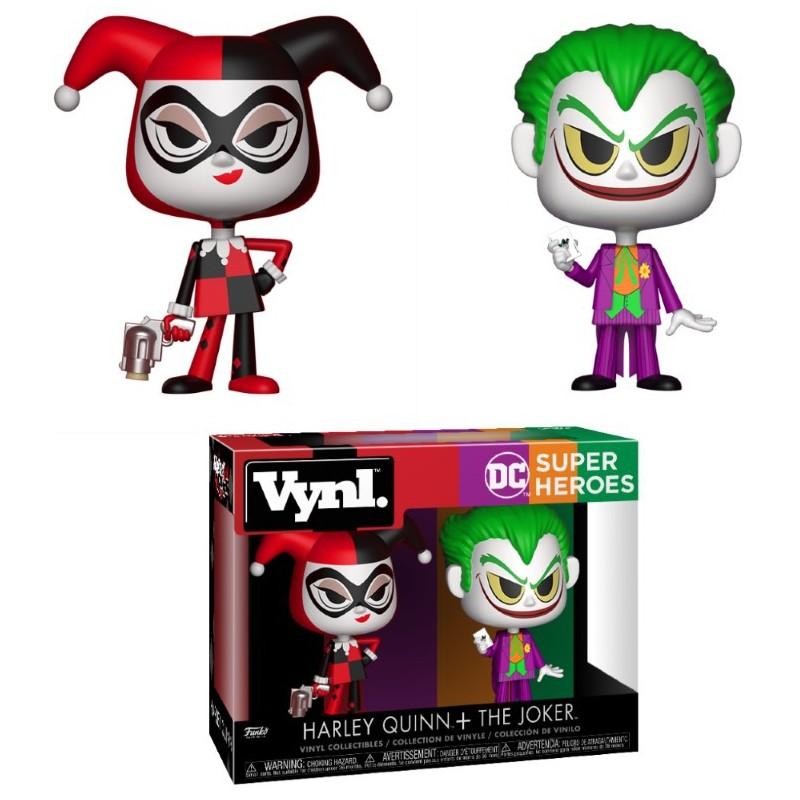Joker y Harley Quinn Funko Pop Vynl Pack Figuras