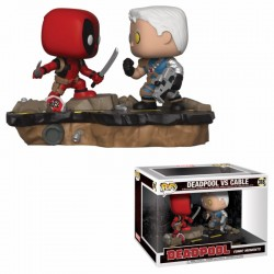 Funko POP Deadpool y Cable Figuras Movie Moments
