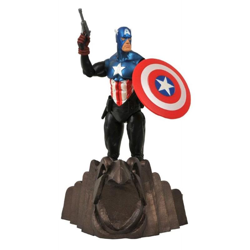 Figura Capitan America Marvel Select Comprar