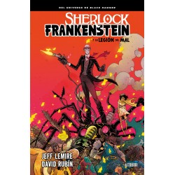 Sherlock Frankenstein y la Legión del Mal Comic Astiberri