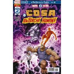 Marvel 2 en 1. La Cosa y la Antorcha Humana 5 Panini Comics