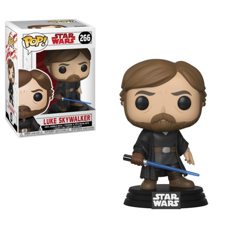 Luke Skywalker Batalla Final POP Funko Star Wars Episodio VIII Comprar
