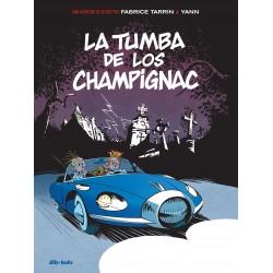 Comic Spirou La Tumba de los Champignac Dibbuks