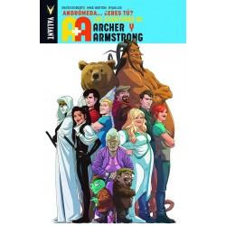 Las Aventuras de Archer & Armstrong. Andrómeda... ¿Eres Tú? Valiant Medusa Cómics Barcelona