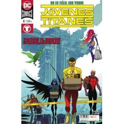 Jóvenes Titanes 4 ECC Ediciones DC Comics