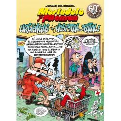 Magos del Humor 194. Mortadelo y Filemón. Urgencias del Hospital...¡Fatal! Ediciones B Magos del Humor