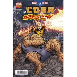 Marvel 2 en 1. La Cosa y la Antorcha Humana 8 Panini Comics