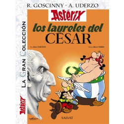 Astérix 18 Los Laureles del Cesar La Gran Colección Salvat