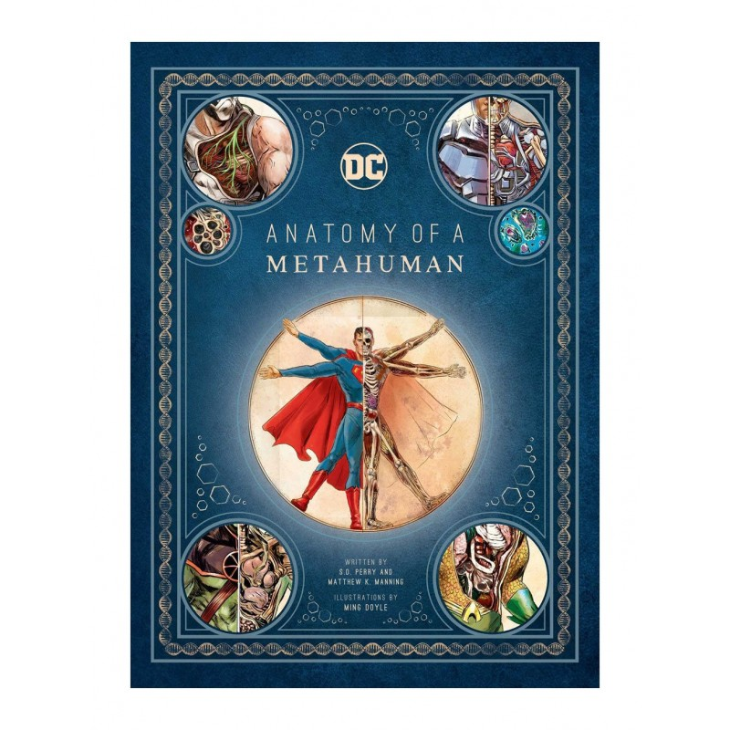 DC Comics Art Book Anatomy of a Metahuman Libro Comprar