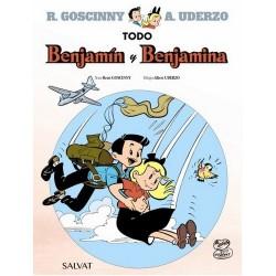 Benjamin y Benjamina Goscinny Uderzo Comic Salvat