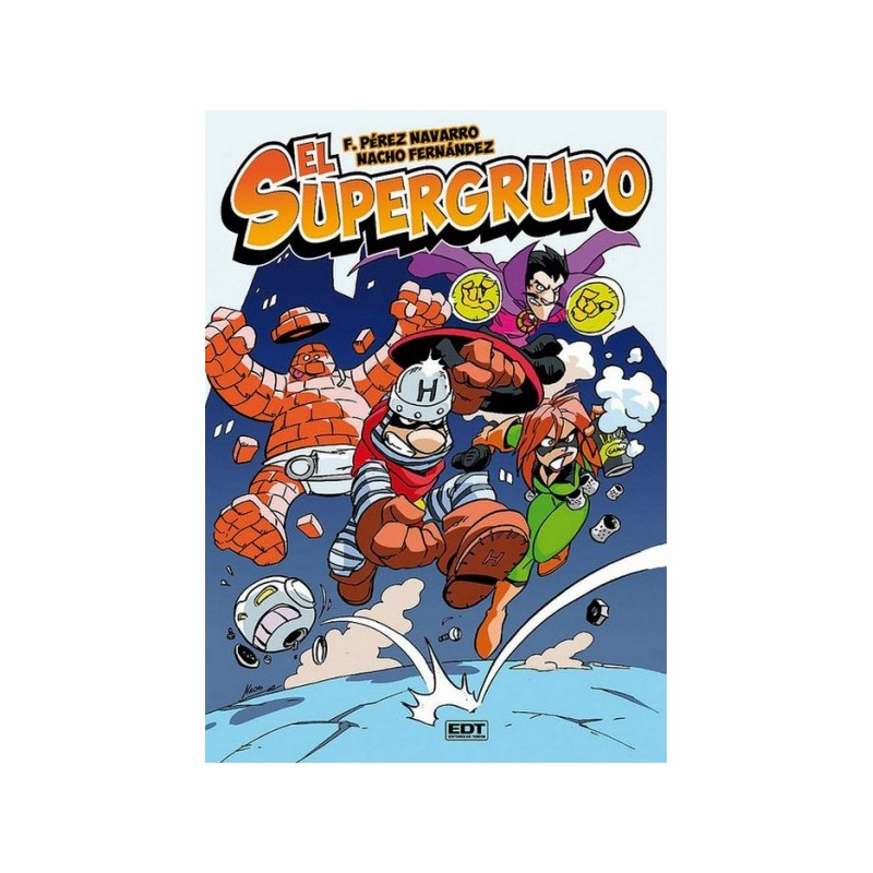 Supergrupo Comprar Comic Oferta