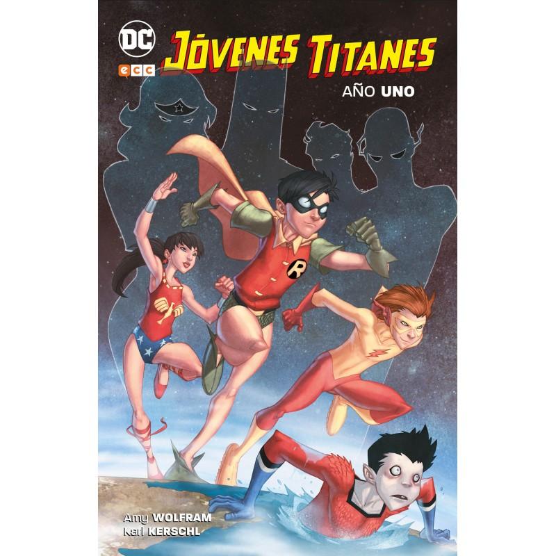 Jóvenes Titanes. Año Uno ECC Ediciones DC Comics