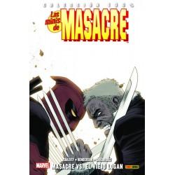 Las Minis de Masacre 12. Masacre Vs. El Viejo Logan (100% Marvel)