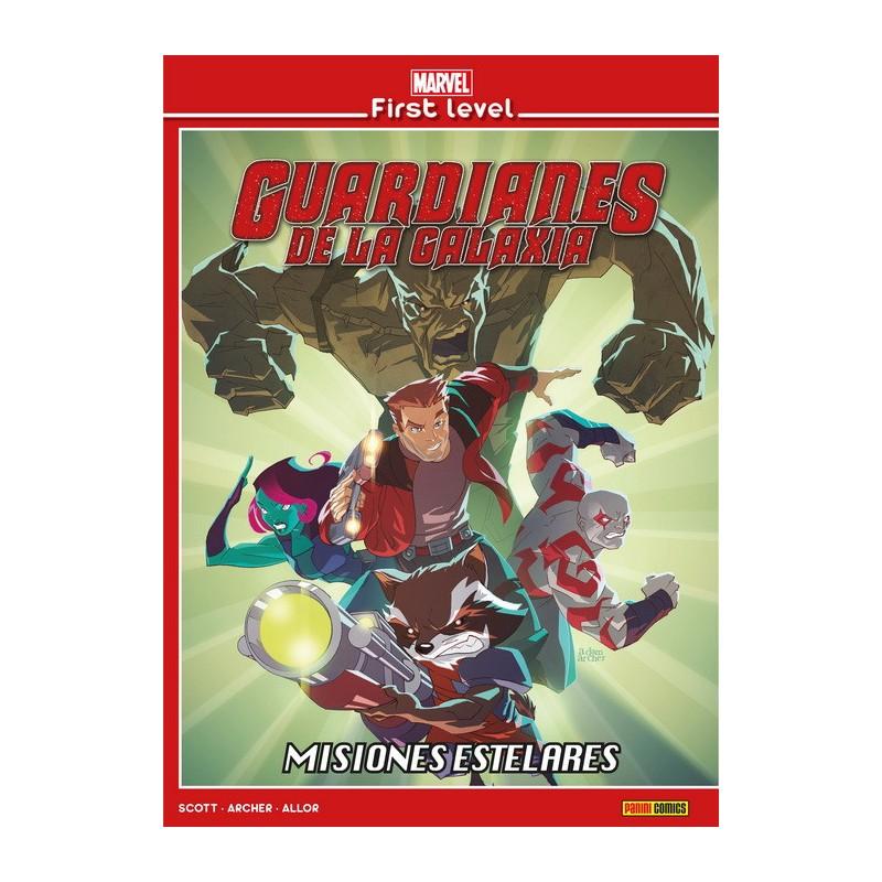 Marvel First Level 5. Guardianes de la Galaxia: Misiones Estelares