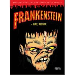 Frankenstein de Dick Briefer Biblioteca Cómics Terror de los Años 50 Diabolo Comics
