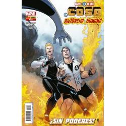 Marvel 2 en 1. La Cosa y la Antorcha Humana 9 Panini Comics