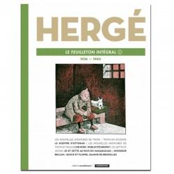 Tintin Hergé Le Feuilleton Intégral 9 1939-1940 Comprar Libro Francés
