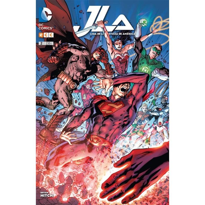 JLA. Liga de la Justicia América 2