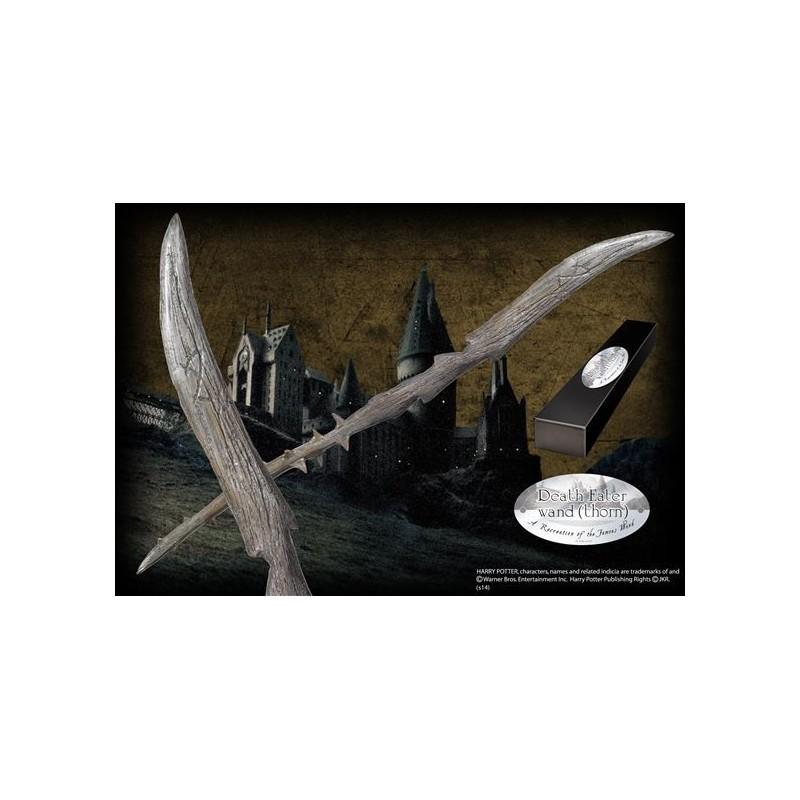 Varita Harry Potter Morífago Noble Collection Comprar