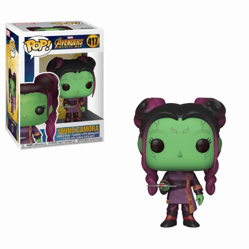 Joven Gamora POP Funko 417 Infinity War Figura