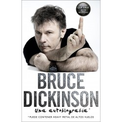 Bruce Dickinson Autobiografia Libro Iron Maiden Planeta