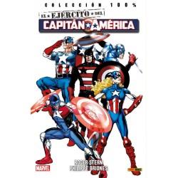 El Ejército del Capitán América (100% Marvel)