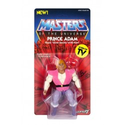 Figura Principe Adam Vintage Masters del Universo Super7 Comprar