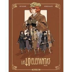 Comic Las 40 Elefantas Ponent Mon