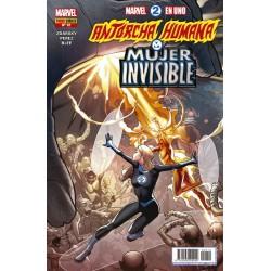 Marvel 2 en 1. Antorcha Humana y la Mujer Invisible 12 Panini Comics
