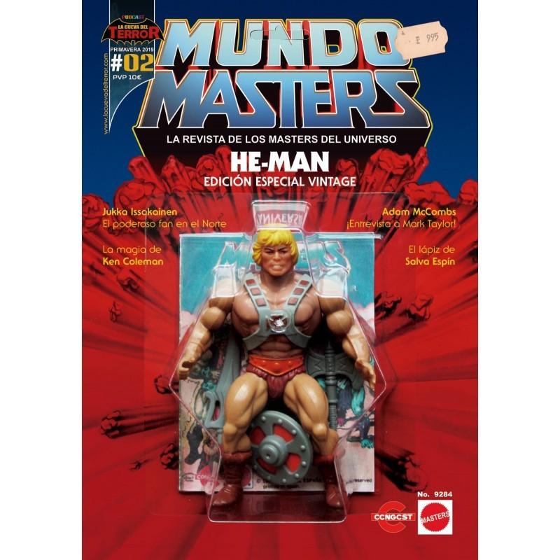 Revista Mundo Masters 2 Comprar Barcelona Masters del Universo