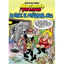 Magos del Humor 198. Mortadelo y Filemón. Da Vinci, El Pintamona...Lisa Ediciones B Magos del Humor