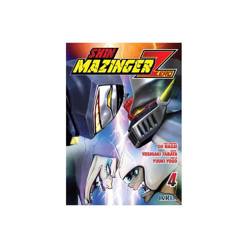 Shin Mazinger Zero 4 Manga Ivrea