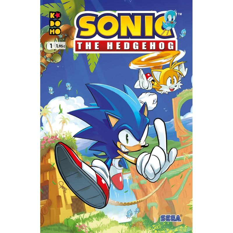 Sonic The Hedgehog 1 ECC Comics