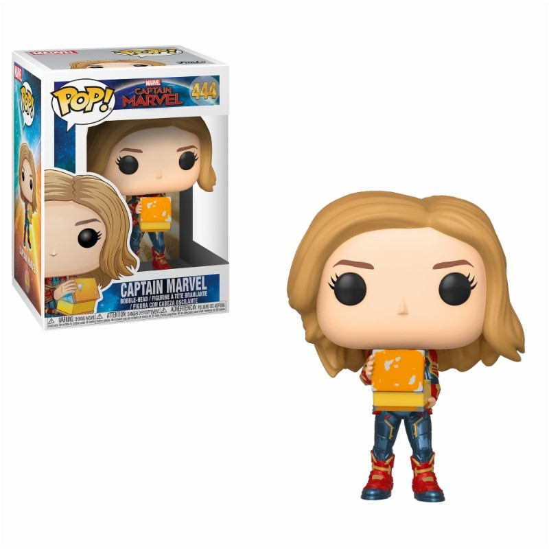 Capitana Marvel POP Funko 444